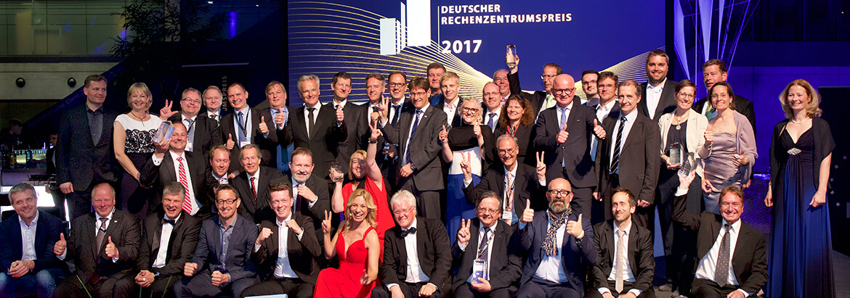 Die Gewinner des Deutschen Rechenzentrumspreises 2017