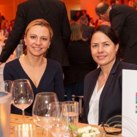 Networking auf der Gala