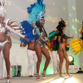 Sambashow als Abschluss der Gala